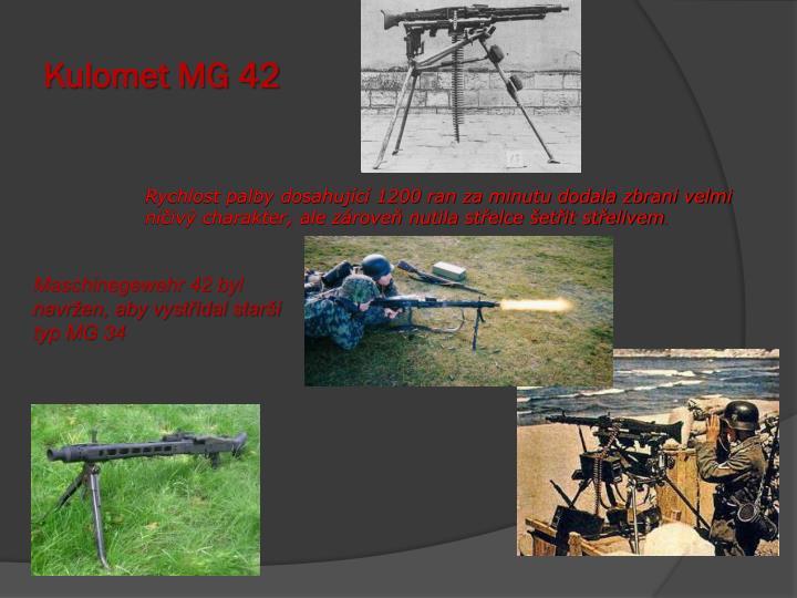 Kulomet MG 42