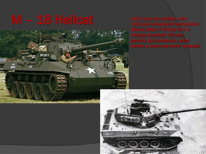 M – 18 Hellcat