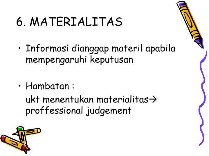 6. MATERIALITAS
