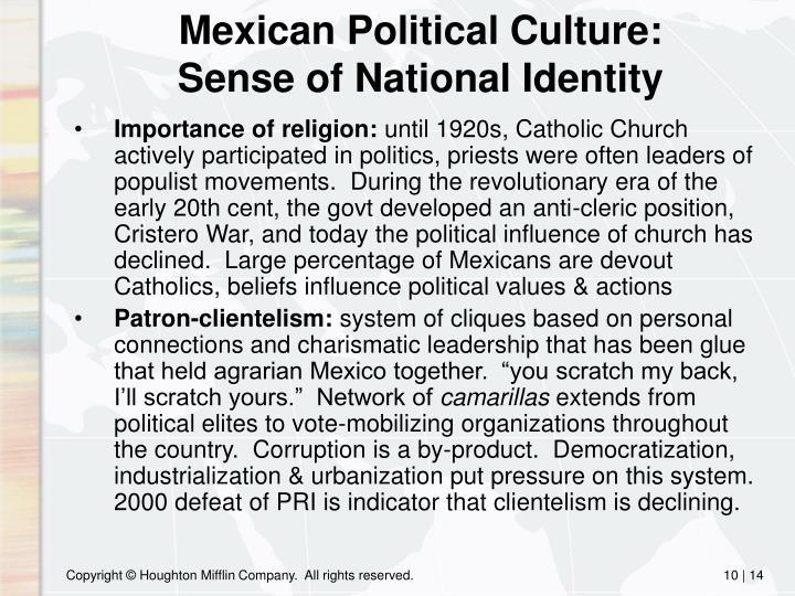 Mexican Political Culture: