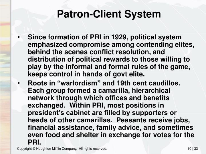 Patron-Client System