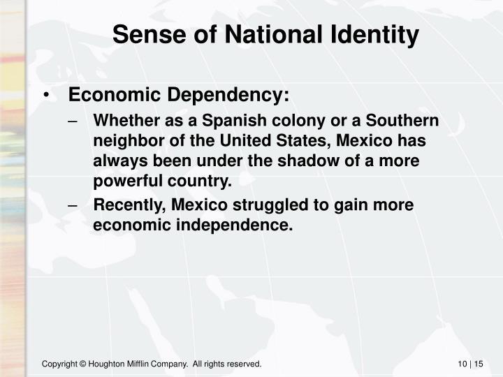 Sense of National Identity