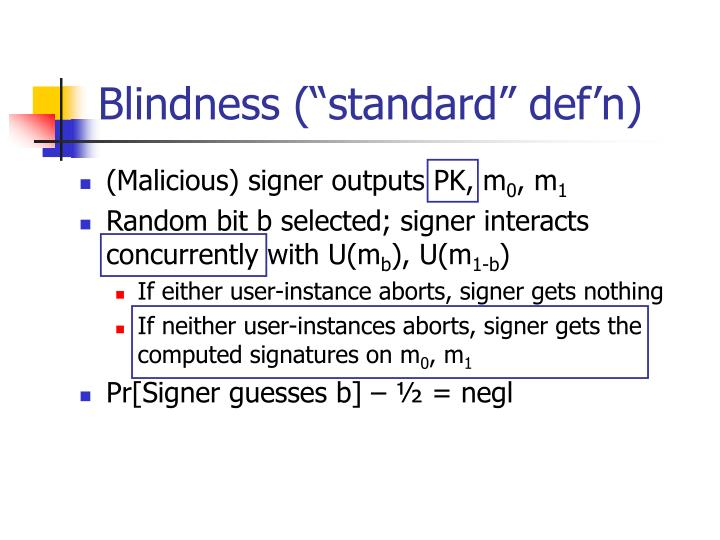"""Blindness (""""standard"""" def'n)"""