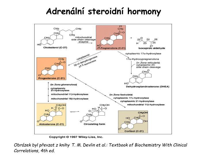 Adrenální steroidní hormony