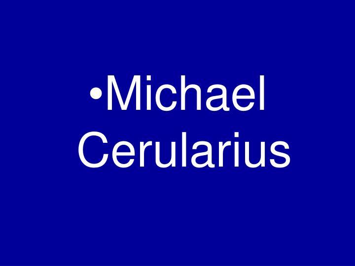 Michael Cerularius