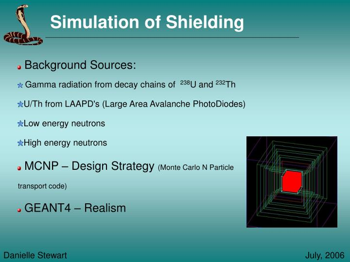 Simulation of Shielding
