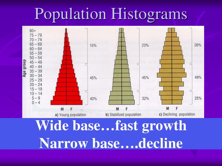 Population Histograms