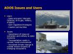 aoos issues and users