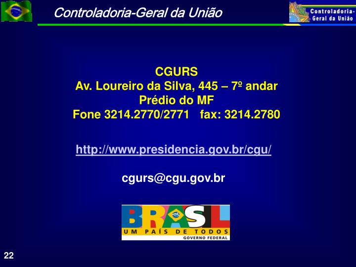 CGURS