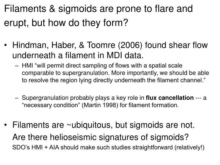 Filaments & sigmoids are prone to flare and erupt, but how do they form?