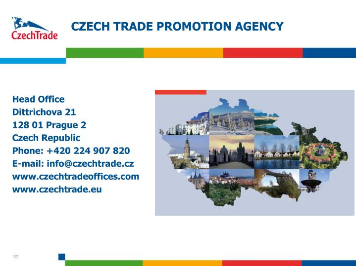 CZECH TRADE PROMOTION AGENCY