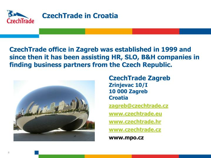 CzechTrade in Croatia