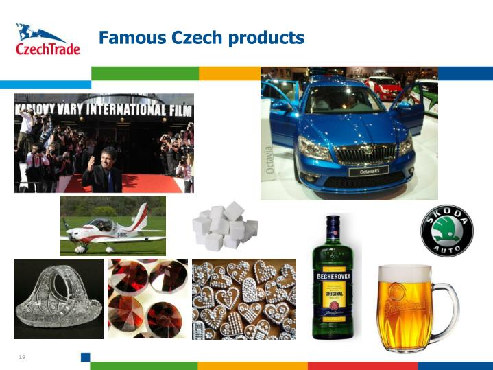 Famous Czech products