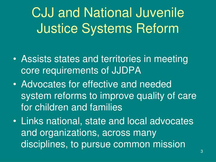 improvements in the juvenile justice process