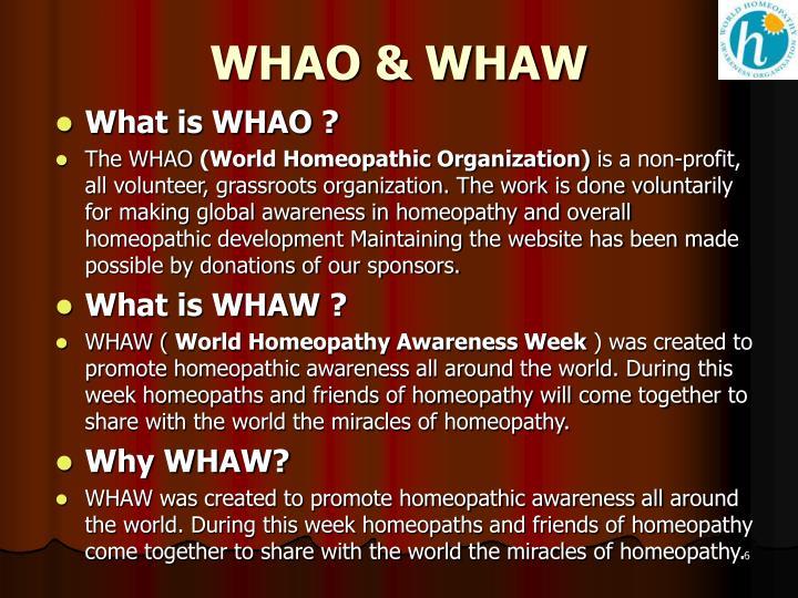 WHAO & WHAW