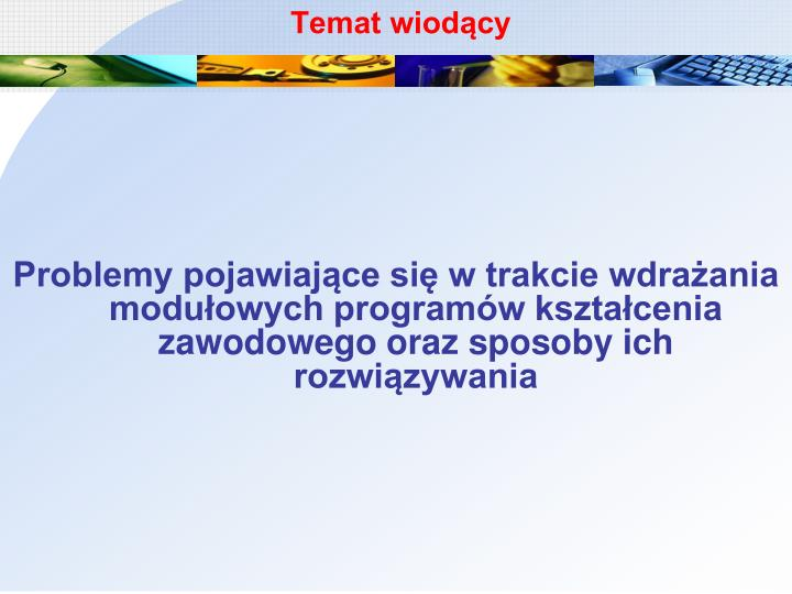 Temat wiod cy