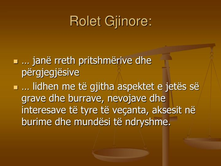 Rolet Gjinore: