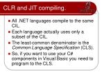 clr and jit compiling2