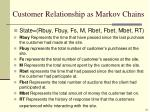 customer relationship as markov chains1