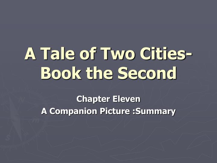 A tale of two cities book the second