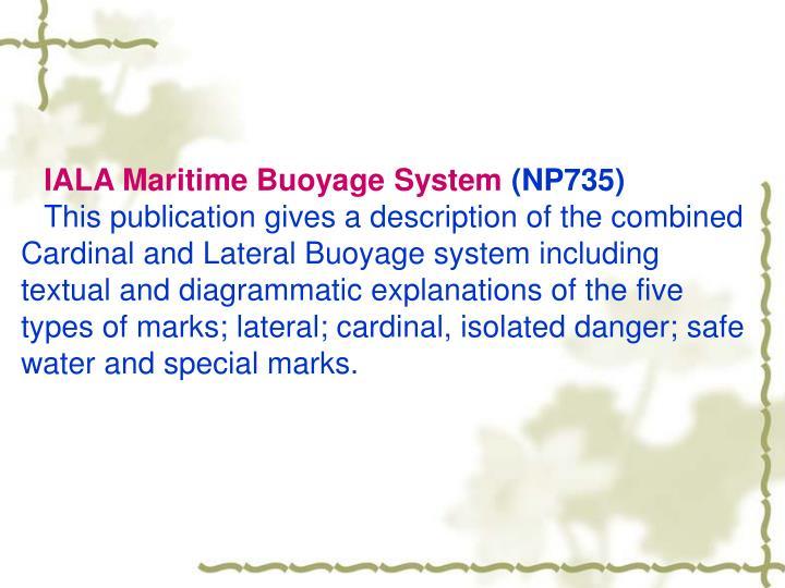 IALA Maritime Buoyage System