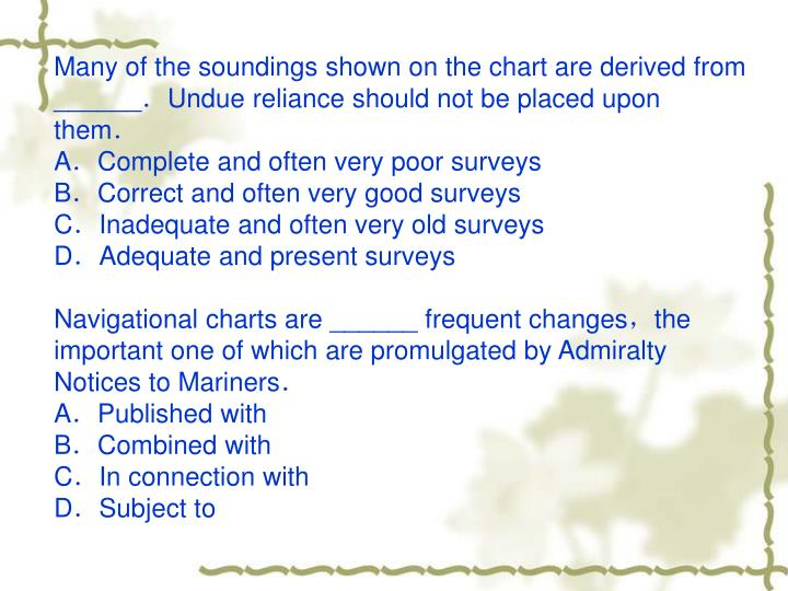 Many of the soundings shown on the chart are derived from ______