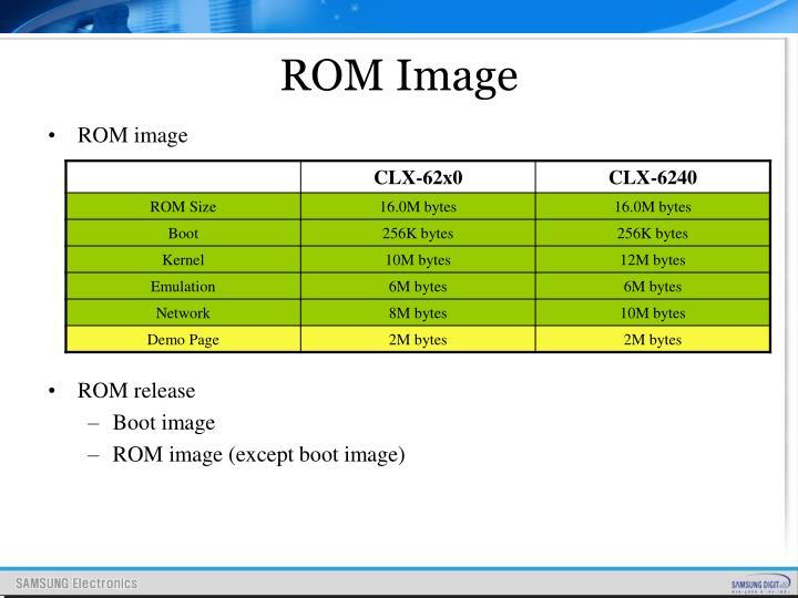 ROM Image