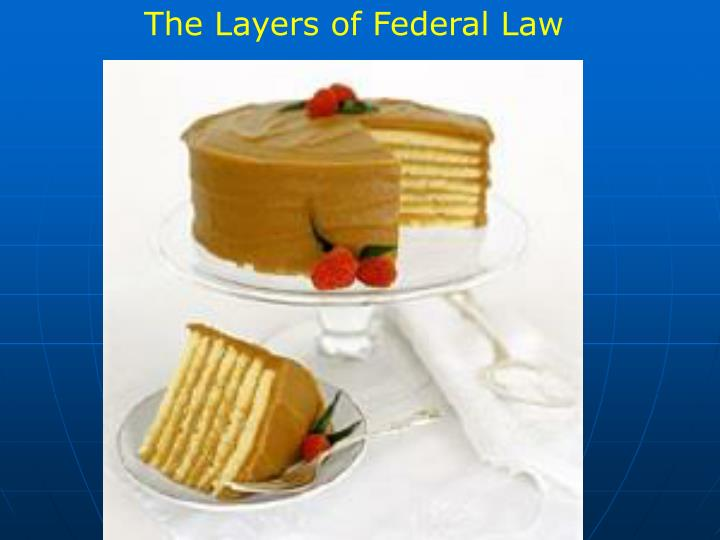 The Layers of Federal Law