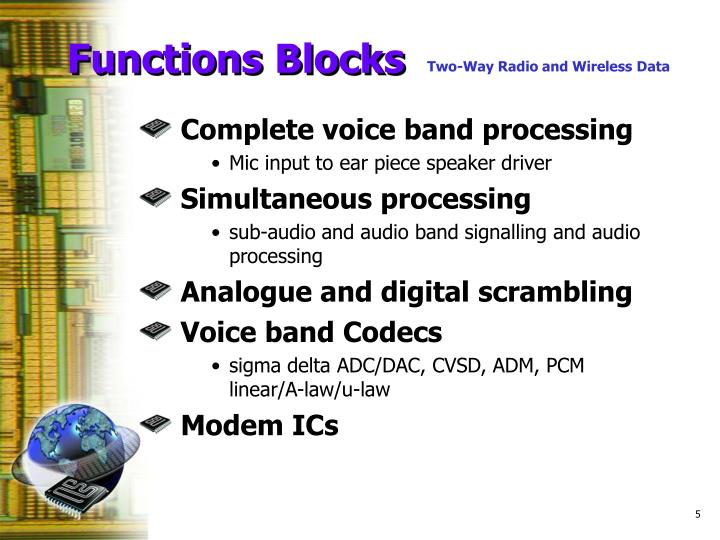 Functions Blocks