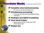 functions blocks
