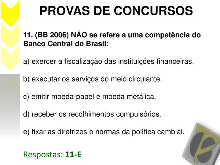 PROVAS DE CONCURSOS