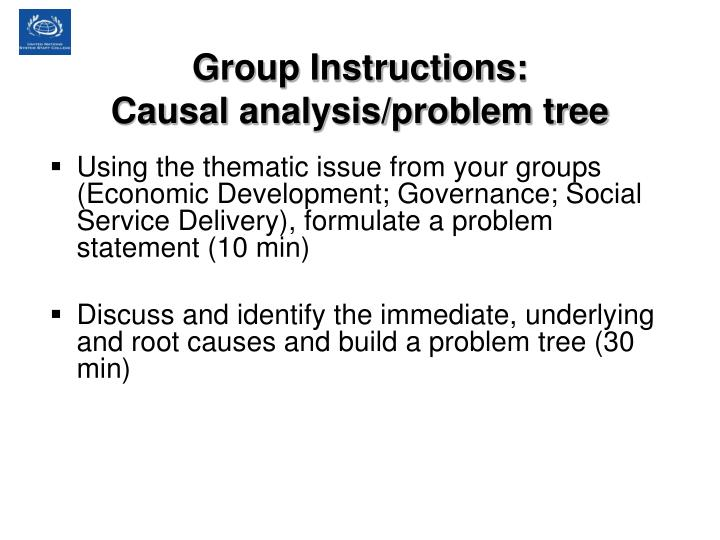 Group Instructions: