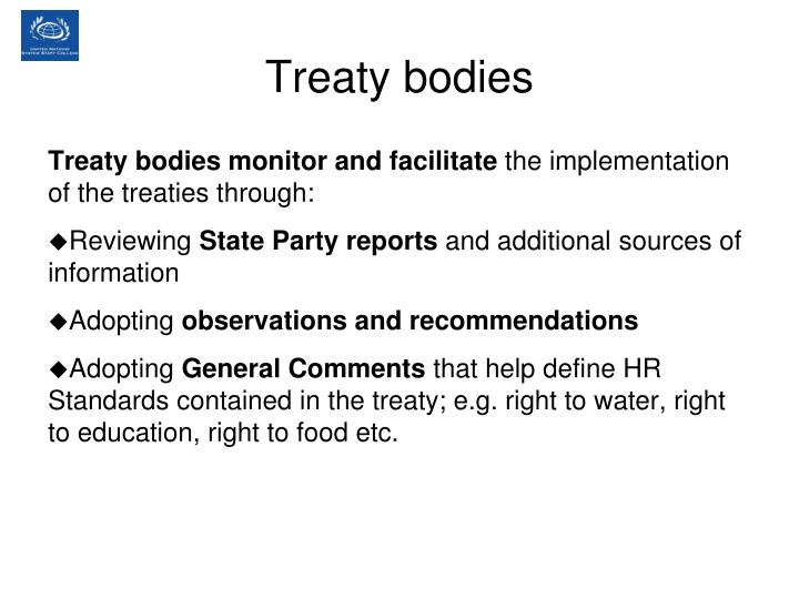 Treaty bodies
