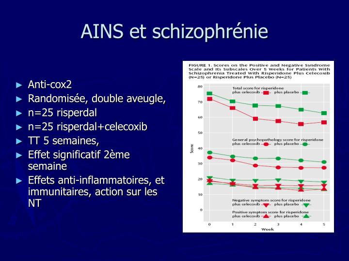 AINS et schizophrénie