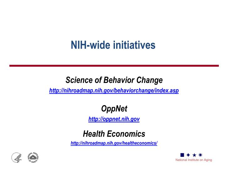 NIH-wide initiatives