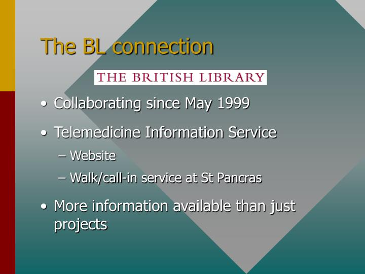 The BL connection