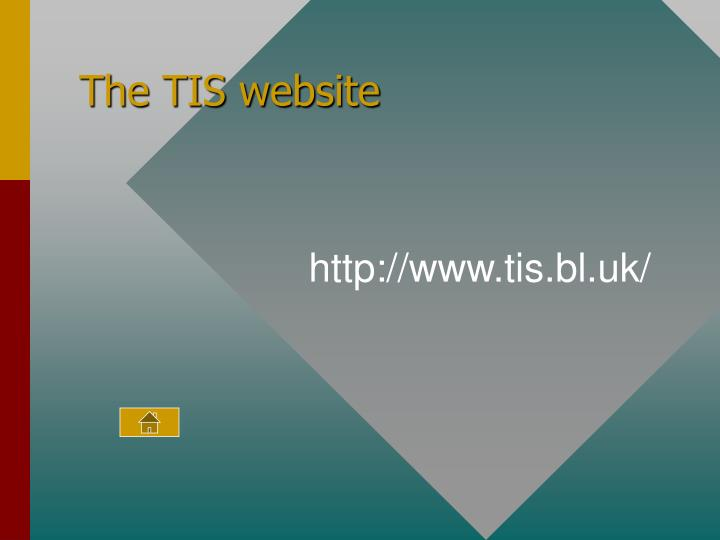 The TIS website