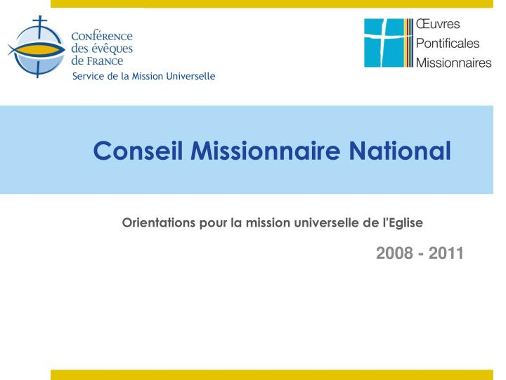 conseil missionnaire national