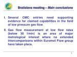 bratislava meeting main conclusions