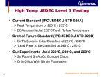 high temp jedec level 3 testing2