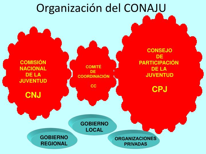 Organización del CONAJU