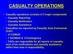 casualty operations