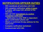 notification officer duties1