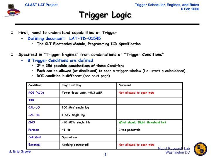 Trigger Logic