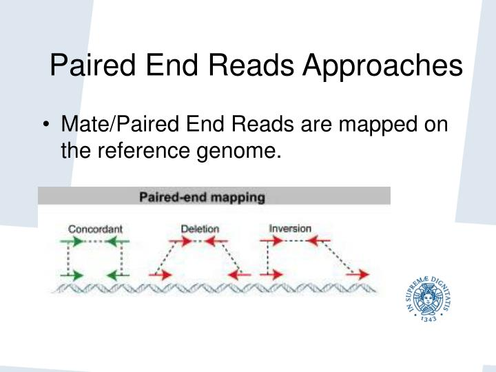 Paired End Reads Approaches
