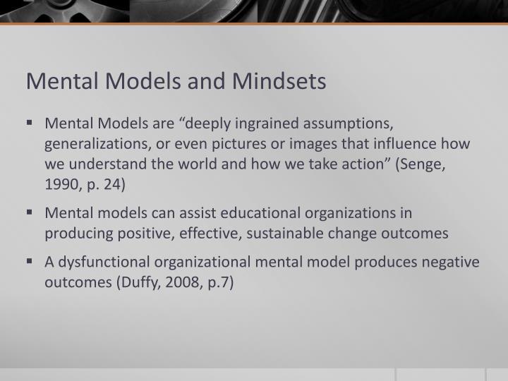 Mental Models and Mindsets