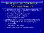 running a local coa branch committee structure1