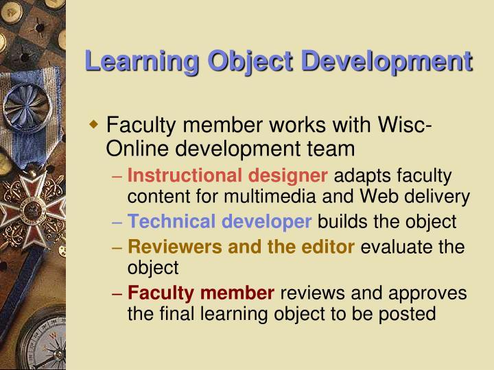 Learning Object Development