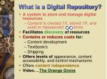 what is a digital repository