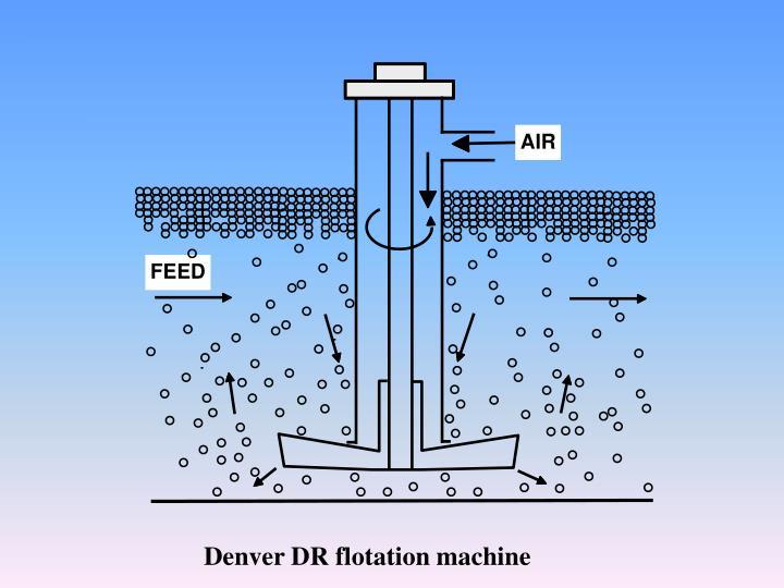 Denver DR flotation machine